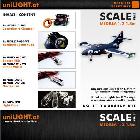UniLight Scale-Medium Lighting Set 24mm-0