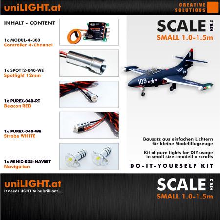 UniLight Scale-Small Lighting Set 24mm-0