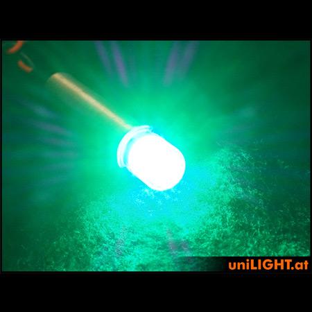 UniLight 4Wx2 Power Navigation Light, 10mm, T-Fuse - Green-84851