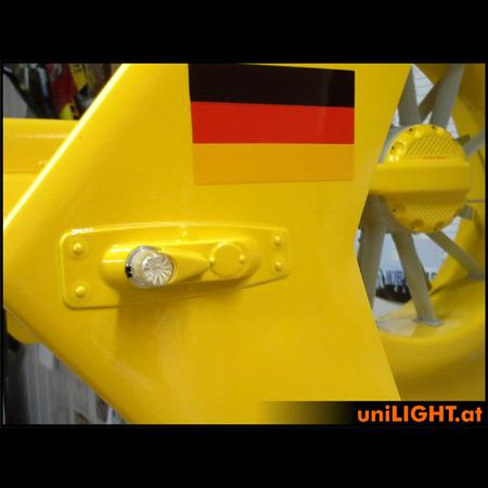 UniLight 4Wx2 Power Navigation Light, 10mm, T-Fuse - Green-84850