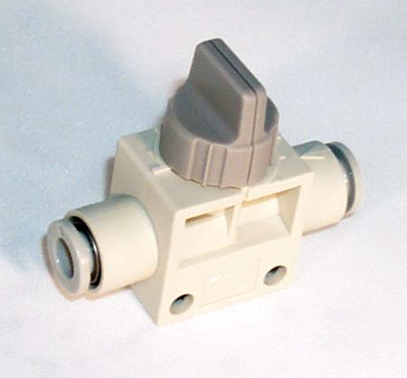 SMC 4mm to 6mm Shut-Off Valve-0