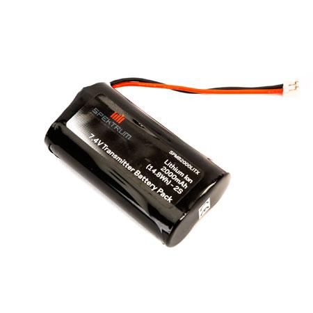 2000mAh Transmitter Battery: DX8, DX9-0