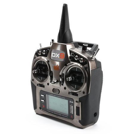 DX9 Black 9-Channel DSMX Transmitter Only, Mode 2