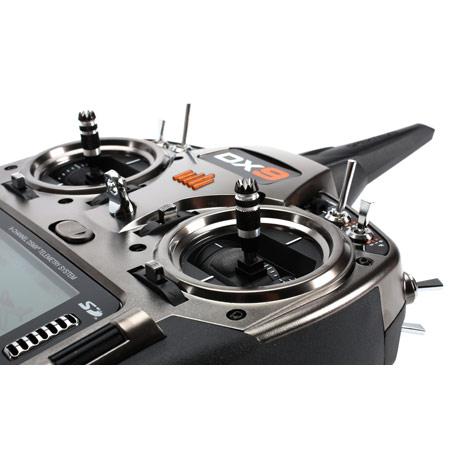 DX9 Black 9-Channel DSMX Transmitter Only, Mode 2-82277