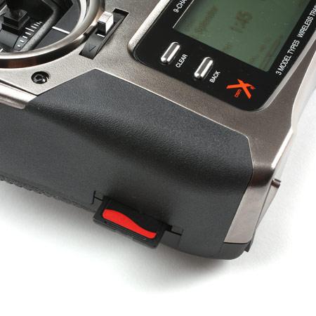 DX9 Black 9-Channel DSMX Transmitter Only, Mode 2-82278