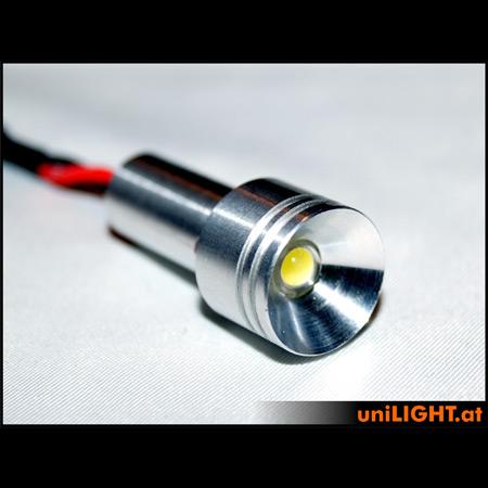 UniLight 4W Aluminium-Spotlight, 15mm-0