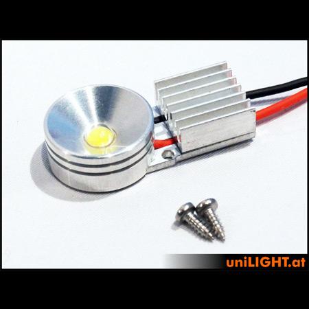 UniLight 8Wx2 Gears-Spotlight, UltraPower, 20mm-0