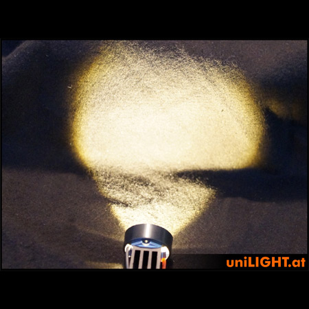 UniLight 8W Eco-Spotlight with lense, 25mm, T-Fuse-84759