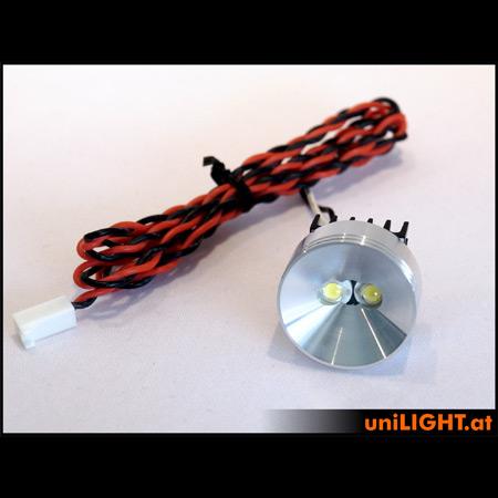 UniLight 8Wx2 Aluminium Spotlight, 30mm, T-Fuse-0