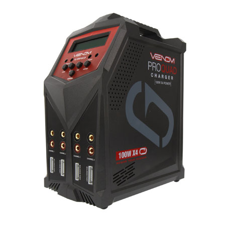 Pro Quad 100W 7A 4-Port AC/DC Battery Charger-0