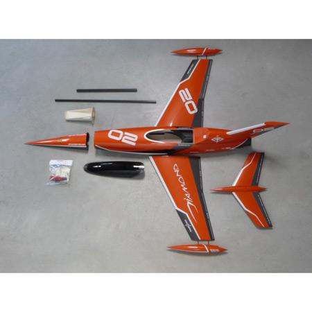 Aviation Design Mini Diamond ARF Racing - Orange Sport Jet-0