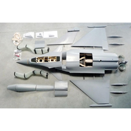 Aviation Design Rafale 1/7 Scale Jet Twin Seat-0
