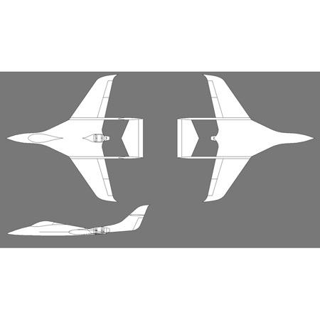 Aviation Design Phoenix ARF All White Sport Jet-0