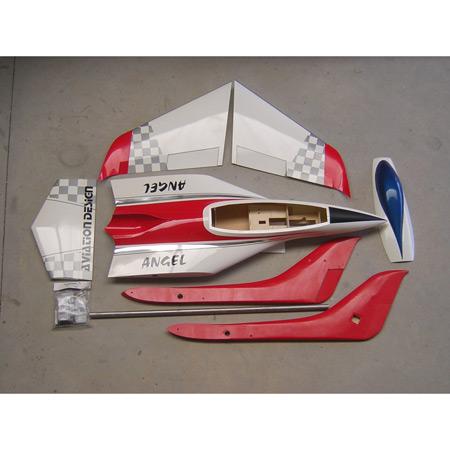 Aviation Design Phoenix ARF Red/Silver Sport Jet-0