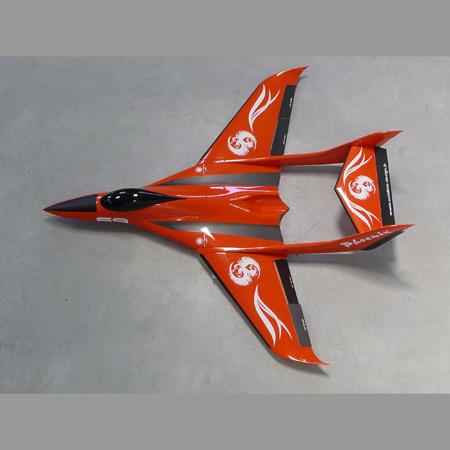Aviation Design Phoenix ARF Racing - Orange Sport Jet-0