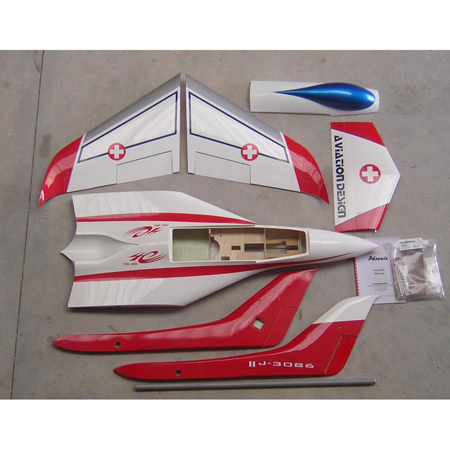 Aviation Design Phoenix ARF Swiss Sport Jet-0