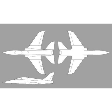 Aviation Design Scorpion ARF All White Sport Jet-0