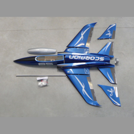 Aviation Design Scorpion ARF Racing - Blue Sport Jet-0