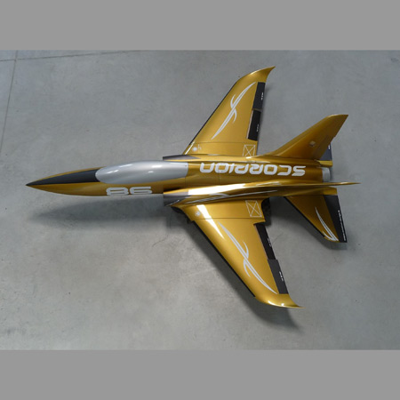 Aviation Design Scorpion ARF Racing - Gold Sport Jet-0