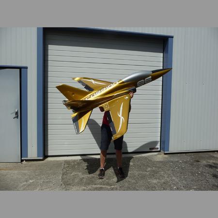 Aviation Design Scorpion ARF Racing - Gold Sport Jet-87016