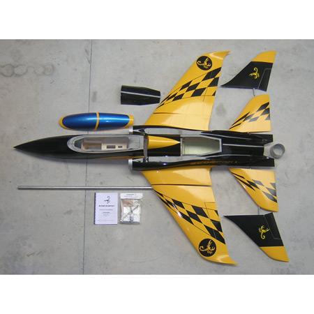 Aviation Design Scorpion ARF Yellow/Black Sport Jet-0