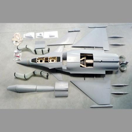 Aviation Design Rafale 1/5 Scale Jet Single Seat, Twin Turbine-0