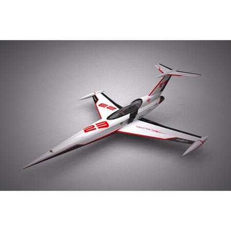 Aviation Design Diamond White Racing Scheme-0