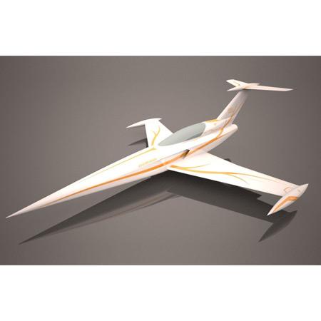 Aviation Design Diamond ARF White/Gold Sport Jet-0