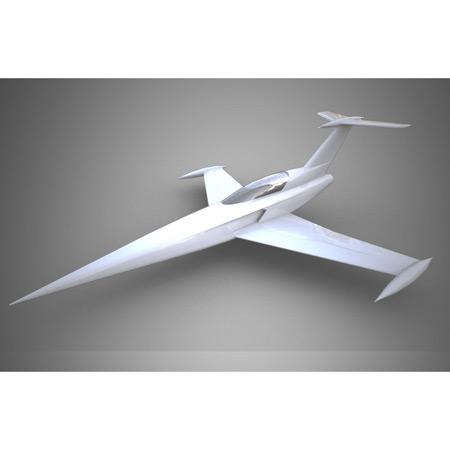 Aviation Design Diamond ARF All Grey Sport Jet-0