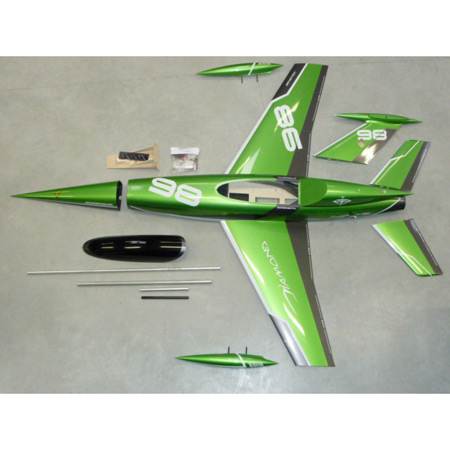 Aviation Design Diamond Green Racing Scheme-0