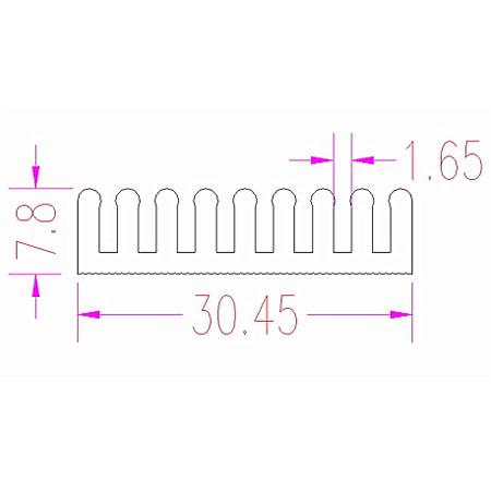 Servo Wire Mount (5)-82343