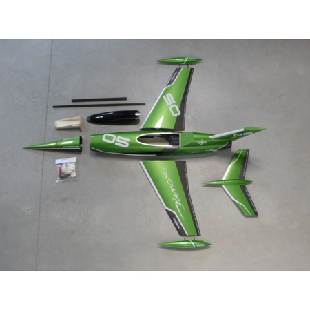 Aviation Design Mini Diamond ARF Racing - Green Sport Jet-0