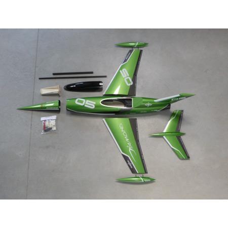 Aviation Design Mini Diamond ARF Racing - Green Sport Jet-0