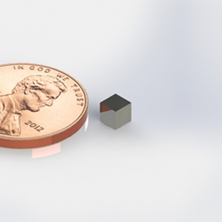 """Rare Earth Magnet 1/8"""" Cube-4 Pack-0"""