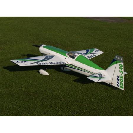CARF Edge 540 2.3m Airshow Scheme Green and Blue