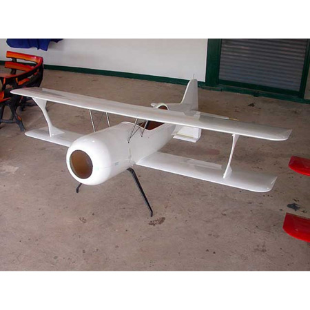 Pitts S12 All White