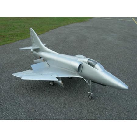 CARF A4 Skyhawk All Silver Scheme