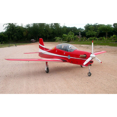CARF T27 Tucano Turbo Prop Brazilian Red Scheme
