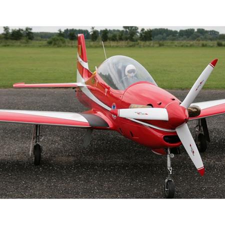 CARF T27 Tucano Turbo Prop Silver-85607