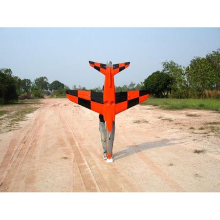 Ultra Flash Chequer Orange Scheme-85076