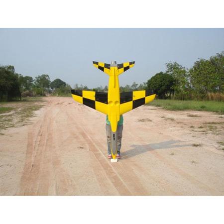 Ultra Flash Chequer Yellow Scheme-84042