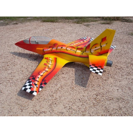 CARF ViperJet MK2 Fantasy Scheme Red/Yellow