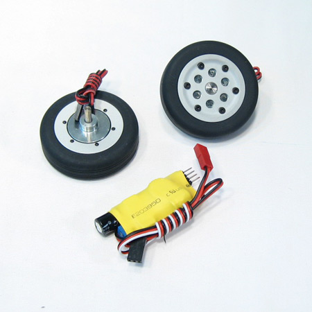 50mm Electric Brake and Wheel Set-0