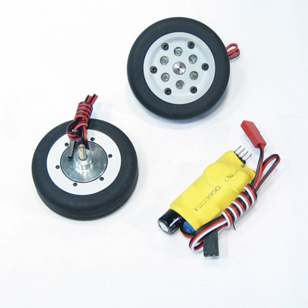 55mm Electric Brake and Wheel Set-0