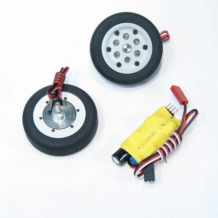 55mm Electric Brake and Wheel Set-0