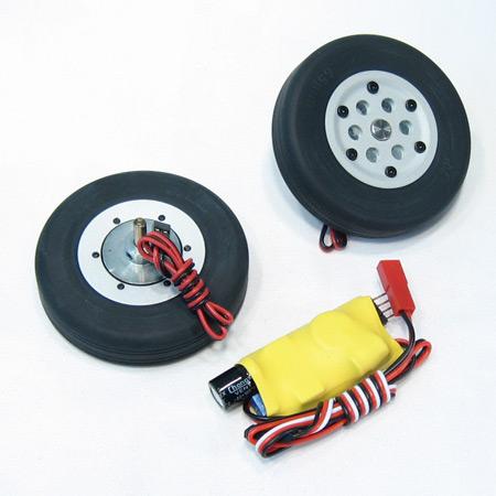 60mm Electric Brake and Wheel Set-0