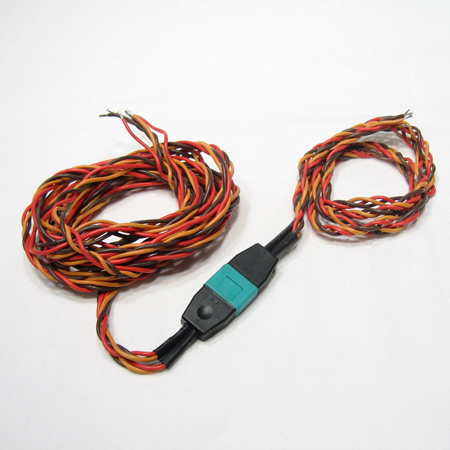 2 Servo MPX Connector 22AWG wire 40/120cm..-0