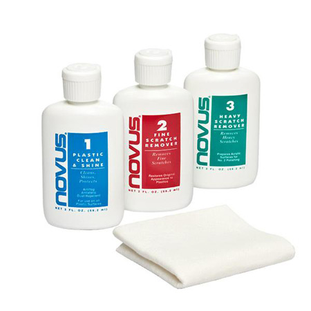 Novus Plastic Polish Kit 2 Oz., Scratch Remover & Polish-0