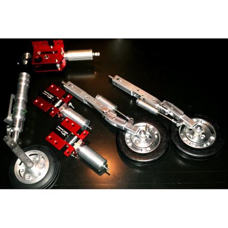 Shockwave Kit-Base Black-Magenta & Silver Metallic Trim-83556