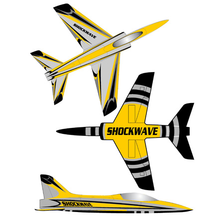 Elite Aerosports Shockwave Sports Jet Scheme #02-0